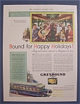 Click here to enlarge image and see more about item 10071: Vintage Ad: 1931 Greyhound Lines