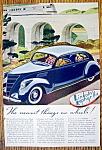 Vintage Ad: 1937 Lincoln Zephyr V-12