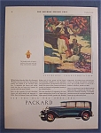1929 Packard Automobile with Princes on Camels