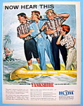 Click here to enlarge image and see more about item 10126: Vintage Ad: 1957 Yankshire Leisure Wear