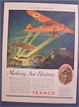 Click here to enlarge image and see more about item 10155: 1929  Texaco By Clayton Knight