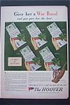 1943 The Hoover Company with 5 Different War Bonds