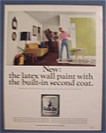 1966 Dutch Boy Nalplex Latex Wall Paint w/Woman