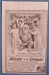 Click here to enlarge image and see more about item 10202: 1914  Hinds Honey & Almond Cream