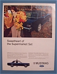 Vintage Ad: 1966  Ford  Mustang