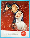 Click to view larger image of 1956 Coca-Cola (Coke) with Woman Holding a Soda (Image1)