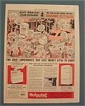 Vintage Ad: 1941 Hotpoint Electric Refrigerator & Range