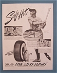 "Click here to enlarge image and see more about item 10241: 1941 Fisk Tires with Joe ""Flash"" Gordon"