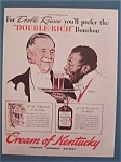 Click here to enlarge image and see more about item 10248: Vintage Ad: 1940 Cream Of Kentucky/Norman Rockwell