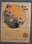 Click here to enlarge image and see more about item 10267: Vintage Ad: 1922 Bon Ami