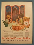 1927 Beech-Nut Peanut Butter w/Boy & Girl Eating