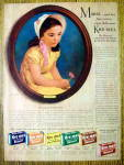 Click to view larger image of Vintage Ad: 1941 Kre-Mel Dessert with Marie (Image1)
