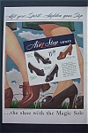 1943 Air Step Shoes with 4 Different Styles of Shoes
