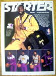 Ad: 1986 Starter Jacket with James Worthy
