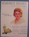 1933 Palmolive Soap with a Lovely Woman