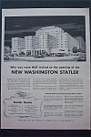 1943 Statler Hotels with New Washington Statler