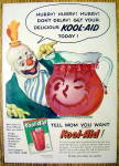 1955 Kool-Aid with Clown Looking At Pitcher