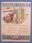 1926  Fairbank's Gold Dust Washing Powder