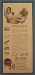Click here to enlarge image and see more about item 10339: 1922  De Long Snaps