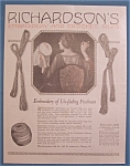 1922  Richardson's Embroidery & Crochet Silks