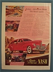 Vintage Ad: 1939  Nash  Automobile