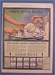 1924  Fairbank's Gold Dust Washing Powder