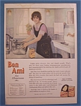 1924 Bon Ami with Woman Looking at a Can