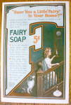 Click to view larger image of 1914 Fairy Soap with Woman Walking Upstairs (Image2)