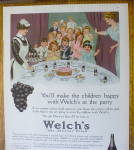 Click to view larger image of 1914 Welch's Grape Juice with a Children's Party (Image3)