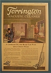 Vintage Ad: 1920 Torrington Electric Vacuum Cleaner