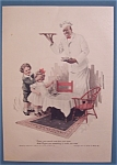 Click here to enlarge image and see more about item 10527: 1917 Cream Of Wheat Cereal w/Boy Covering Girl's Eyes