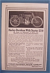1914 Harley-Davidson Motorcycle with Starter