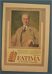 Click here to enlarge image and see more about item 10568: Vintage Ad: 1916 Fatima Cigarettes