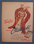 1939 Chesterfield Cigarettes w/Woman with Arms Crossed