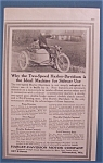 1914 Harley-Davidson Motorcycle with Man & Woman