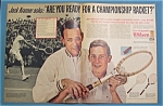 1963 Wilson Tennis Racket w/ Jack Kramer