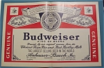 Click here to enlarge image and see more about item 10633: Vintage Ad: 1965  Budweiser  Beer