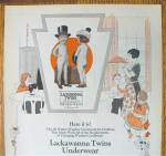 Click to view larger image of 1923 Lackawanna Twins Underwear w/ Boy & Girl (Image3)