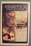 Click here to enlarge image and see more about item 10672: 1912  Colgate Talc Powder