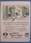 Vintage Ad: 1929  Bottled Carbonated Beverages
