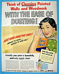 Click here to enlarge image and see more about item 10698: Vintage Ad: 1949  Spic & Span