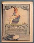 1924 Fairy Soap with Woman Running A Bath