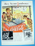 Click here to enlarge image and see more about item 10720: 1937 Coca-Cola with a Boy Scout Jamboree
