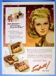 Click to view larger image of 1943 Seaforth For Men with Irene Manning (Desert Song) (Image1)