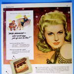 Click to view larger image of 1943 Seaforth For Men with Irene Manning (Desert Song) (Image2)