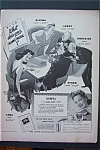 1943 Ethyl Corporation with 5 People Playing Cards