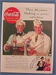 Click here to enlarge image and see more about item 10756: Vintage Ad: 1936  Coca - Cola
