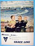 Vintage Ad: 1944 Grace Line
