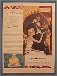 1936 Gemey Perfume with Man Kissing Woman's Hand