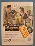 1936 S.O.S. Magic Scouring Pads w/Boles & Judge
